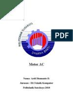 Motor Ac 1 Fase Dan 3 Fase