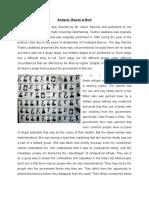 Analysis Paper - Buwan at Baril