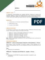 CURSO PROFISSIONALIZANTE DE MAQUETE ELETRÔNICA