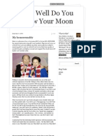 How Well Do You Know Your Moon as of 12-22-10