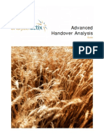 Advanced Handover Analysis