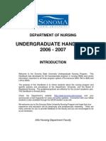 BSN Handbook