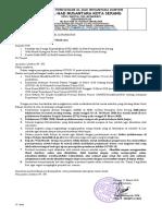 Surat Edaran Corona Smkalhad