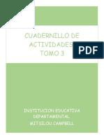 cuadernillo de actividades tomo 3
