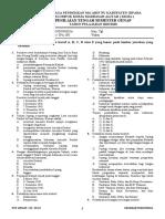 1- SOAL PTS SEJARAH INDO 11 - SEMESTER GENAP 2020 (READY 40+5)