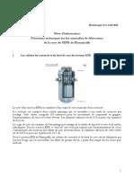 Précisions techniques sur les anomalies de fabrication de la cuve de l'EPR de Flamanville