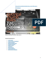 3. Electrical Thumb Rules You MUST Follow (1)