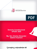 Conceptos y antecedentes del Derecho Constitucional y su importancia