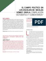 Dialnet-ElCampoPoliticoEnLosEscoliosDeNicolasGomezDavila-6549587