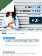 Verben und Ausdrücke mit es.pdf