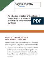 Hemoglobinopati