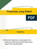 7. Presentasi yang Effektif