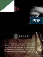 fear e1 ppt