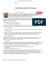 Laboratory Glassware Washer Validation Benefits Go Far beyond Compliance
