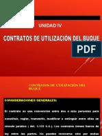 UNIDAD IV. Contratos de Explotación Comercial del Buque.
