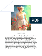 BOOK REPORT (APHRODITE)