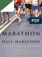 Marathon and Half-Marathon The Beginner's Guide