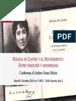 Rosalia de Castro 03-12-2019