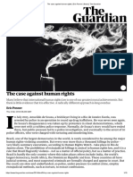 The case against human rights _ Eric Posner _ News _ The Guardian
