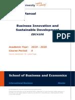 BISD course manual ebc4106_2020