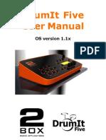 DrumIt User Manual 1.1x r3
