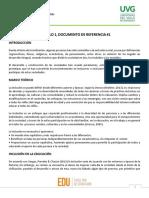 MODULO 1, DOCUMENTO DE REFERENCIA 1