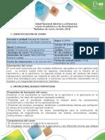 Syllabus del curso Introducción a la Agronomía unidad 1