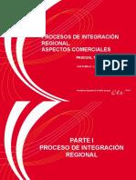 Procesos de Integración Regional,  Aspectos Comerciales