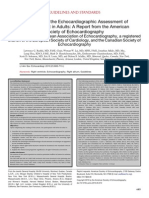 Guidelines for the Echocardiographic Assessment Of