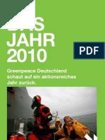 Greenpeace Jahresrückblick 2010