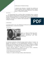 Propiedades de los materiales para la Trasmisión de flujos,radiaciones reacciones y efectos