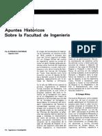 1- Alfredo Bateman - Apuntes históricos sobre la Facultad de Ingeniería - Ingeniería e Investigación - Vol 2 - 1982 - 10 a 13