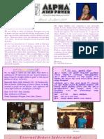 Newsletter Mar & April 2010 Website