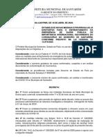 novo DECRETO N COVID-19 17.04.2020