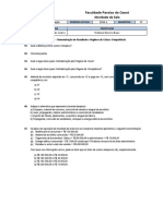 Contabilidade - Lista 02 - DRE