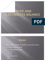 Water and Electrolytes (2)