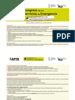 X Congreso de los Servicios de Emergencia