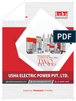 Profile Capacitors Usha ELECTRIC SINCE 1978