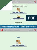 Presentazione - assorbimento acustico - direttiva macchine