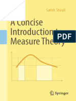 Satish Shirali - A Concise Introduction to Measure Theory (2018, Springer International Publishing)