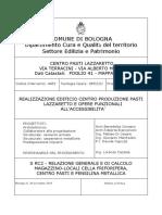 S RC2 -Relazione gen e di calcolo magazzino,locali cella frig,centro pasti, pensilina