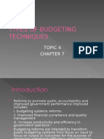 PSA522 4.TYPES OF BUDGETING TECHNIQUES.ppt