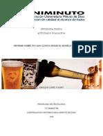 INFORME ANALISIS PSICODINAMICO SOBRE UN CASO DE ALCOHLISMO
