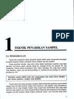 Bab1-Teknik Penarikan Sampel