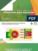 PRESENTACIÓN DEL PAE DE CARTAGENA 2020