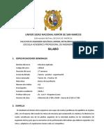 SYLLABUS-2018-2 MecanicaApli Minas