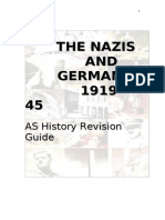 Year 13 Revision Guide Germany