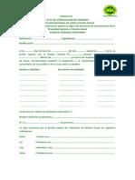 ACTA DE VERIFICACION DE LINDEROS RECTIFICACION