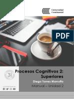 Manual procesos cognitivos 2 Unidad 2