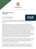 Carta às mulheres - João Paulo II.pdf